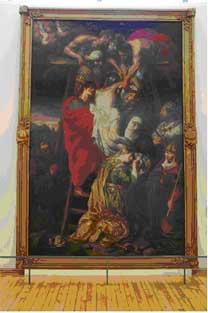 """A la découverte d'une oeuvre d'art : """"la descente de croix"""" Pieter Van Mol"""