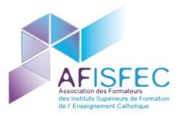Publications de l'Association nationale des Formateurs en Instituts Supérieurs de Formation de l'Enseignement catholique (AFISFEC) (anciennement AFICFP)