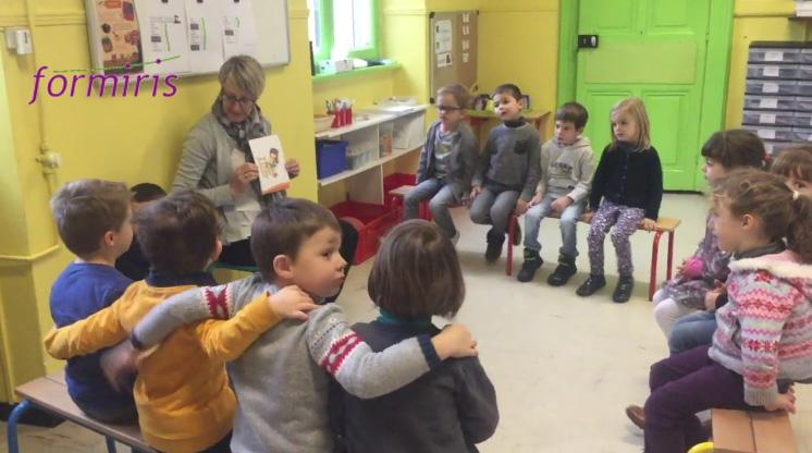 Une école de trois classes à Danjoutin en Franche-Comté